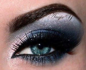 Blue Black Smokey Eye Makeup Tutorial Mugeek Vidalondon
