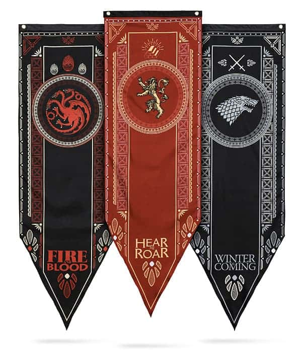 Game Of Thrones Houses Of Westeros Battle Banners