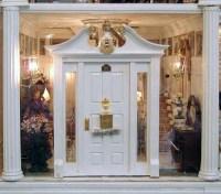 Dollhouse Door & 112 Dollhouse Miniature Luxury Wooden ...