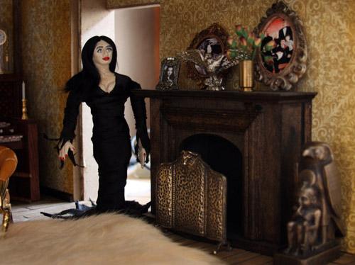 Ara Bentleys Addams Family Mansion Dollhouse