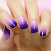 ombre nails tom bachik