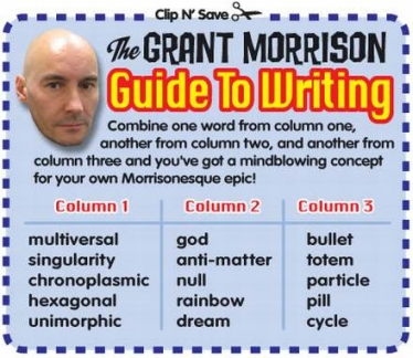 Guide to Grant Morrison's writing