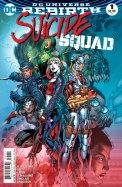 Suicide Squad #1 Rebirth Jim Lee Rob Rilliams