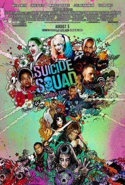 Suicide Squad movie poster 2016