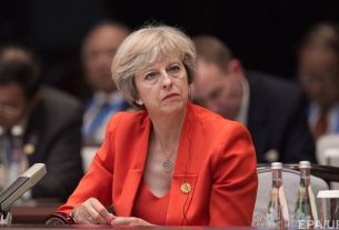 British PM Theresa May Left All Alone at Tory Conference
