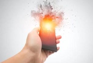 Blow Cellphone Battery
