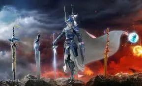 Final Fantasy fighting
