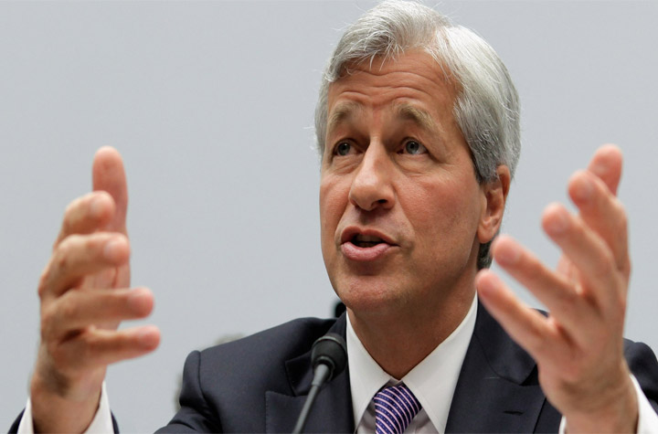 According To JP Morgan CEO Jamie Dimon Government Shutdown Might Lead US Economy Growth To Zero Percent