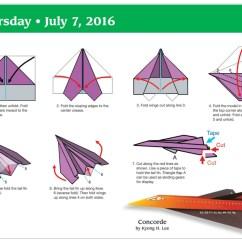 Cool Paper Plane Diagram 2006 Suzuki Eiger Wiring Origami F 15 Tutorial Handmade