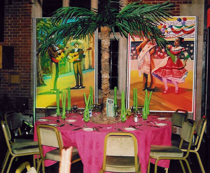 Salsa, Cuban And Mexican Themed Party