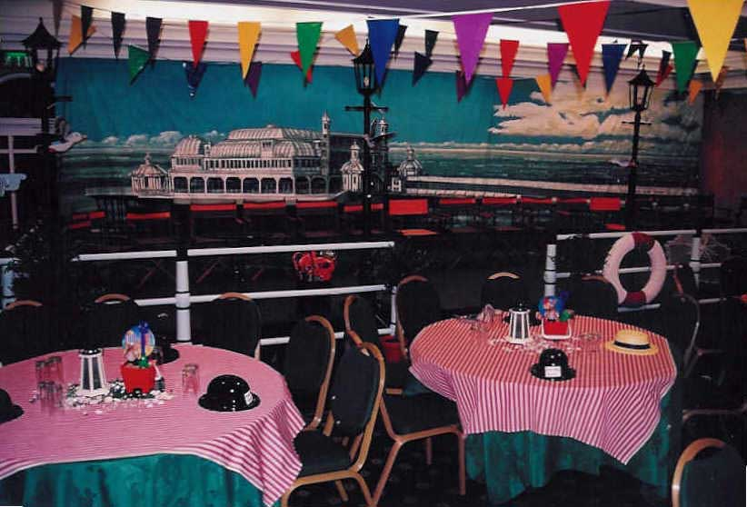 All the fun of a traditional British Seaside themed party
