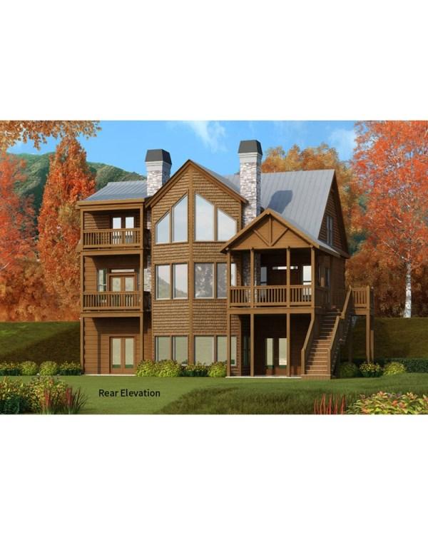 House Plan #rld-barlow - Cabin Country