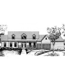 House Plan #ls-95853-hb - Country