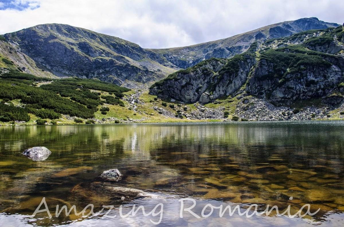 Lacul Gâlcescu - turcoaz de Parâng