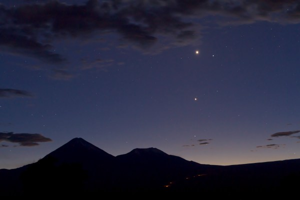 Planet Venus From Earth