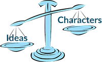 Scale: Ideas vs Characters