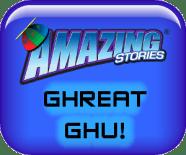 Amazing Stories Ghreat Ghu Button