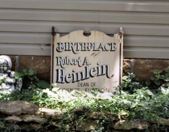 The Heinlein House Plaque ©2013 Steve Fahnestalk.