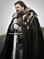 Eddard Stark with Ice