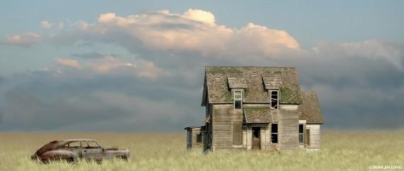 Lost Dreams on the Kansas Plains 1d-007