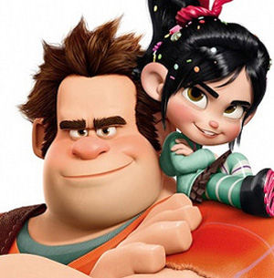 Figure 2 - Wreck-it Ralph and Vannelope