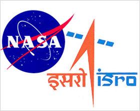 nasa-isro Logos