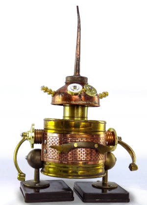 Figure 4 - Mr. Azaki Bot ©2015 Lynne Taylor Fahnestalk