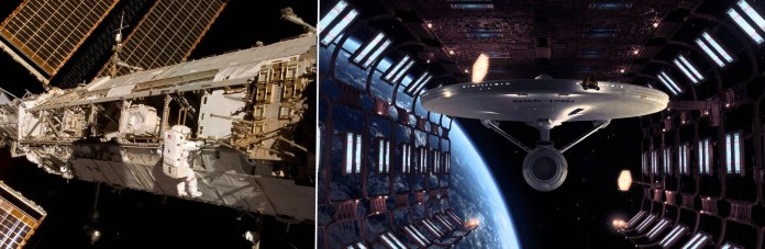 ISS and Enterprise Under Construction1