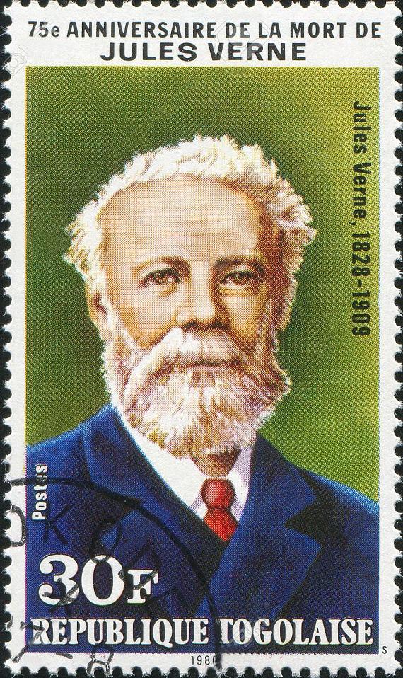 Figure 3 - Togo Jules Verne stamp