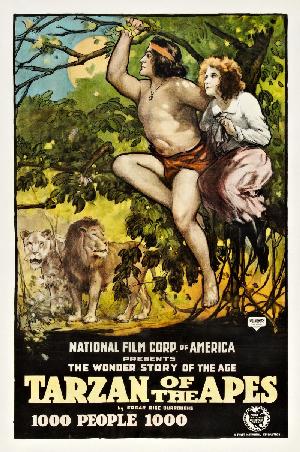 Figure 3 - Elmo Lincoln as Tarzan