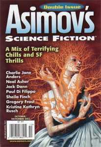 Asimov's Oct-Nov 2013 cover