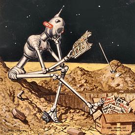 Figure 1 - Mel Hunter robot