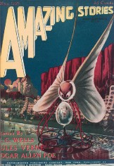 First depiction of an alien