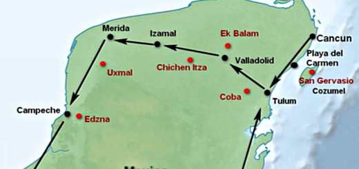 Getting Around - Yucatán Peninsula - Maya Sites