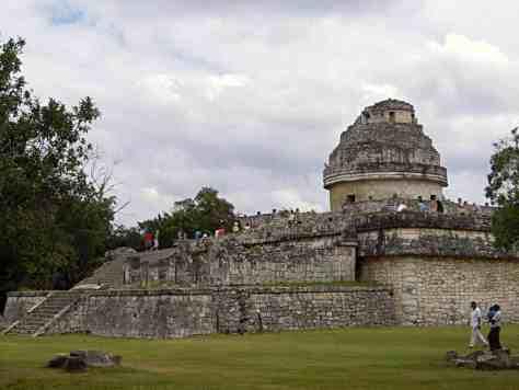 Der Schneckenturm - El Caracol in Chichén Itzá