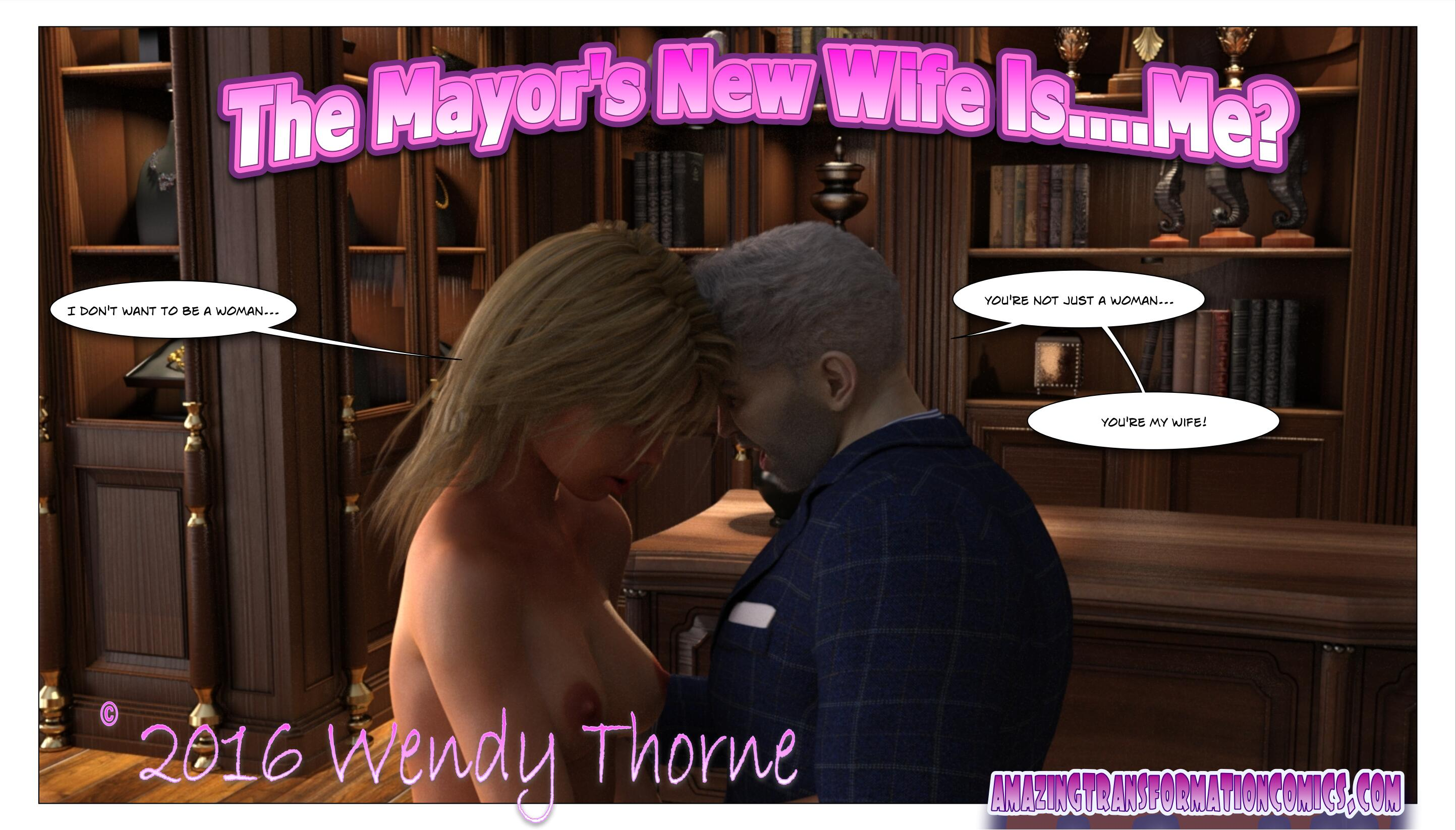 The Mayor's New Wife Is...Me Cover