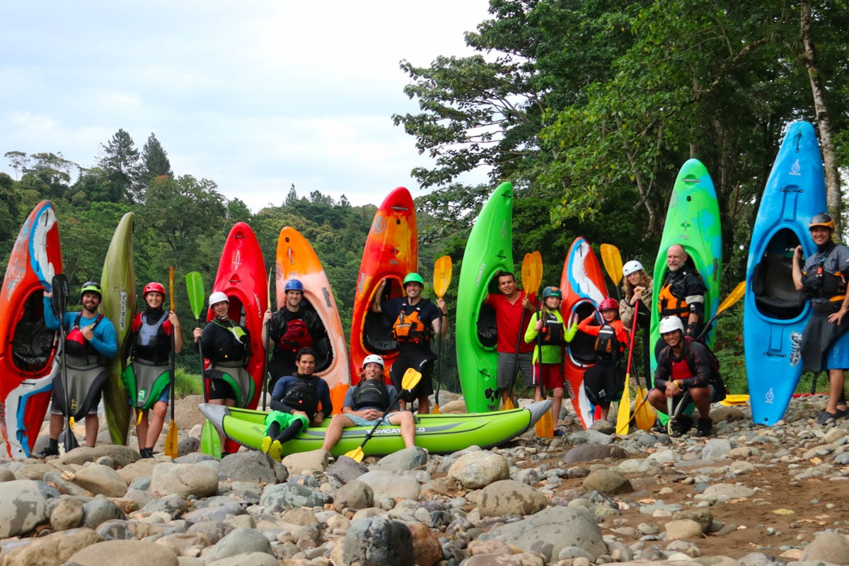 Group Kayaks
