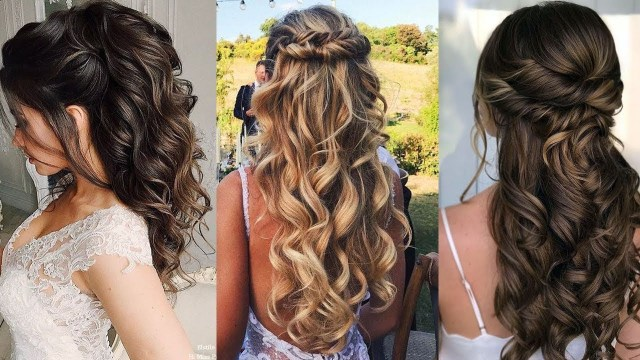 romantic wedding hairstyles for long hair - amazing wedding tips