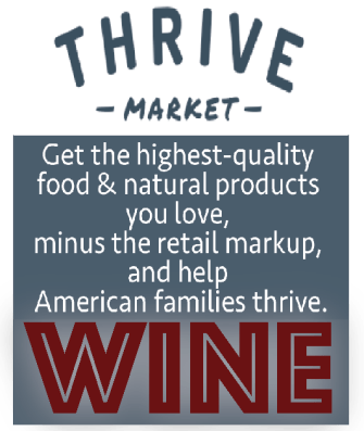 Thrive Market WINE AD