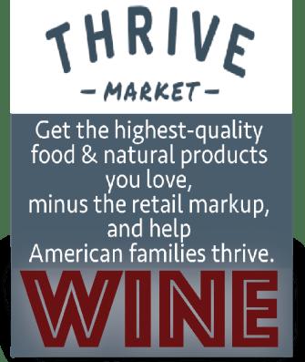 Thrive Market WINE AD