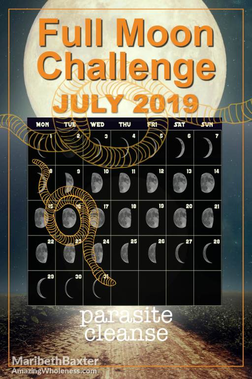 full moon challenge parasite cleanse