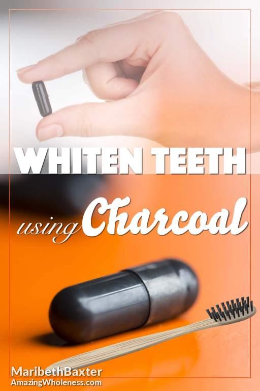 whiten teeth using charcoal