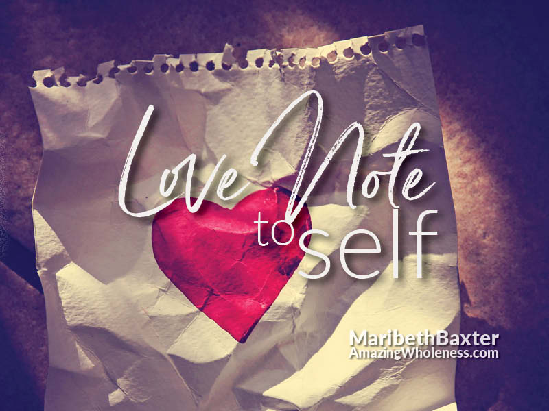 Love Note to Self In Moments of Victory