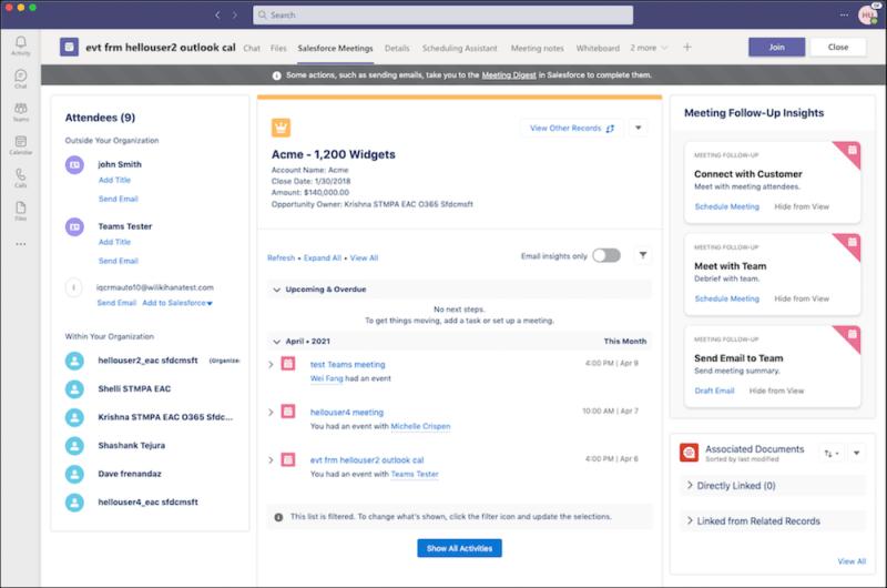 """, Réunissez Salesforce et Microsoft Teams<span class=""""wtr-time-wrap after-title""""><span class=""""wtr-time-number"""">1</span> minutes de lecture</span>"""
