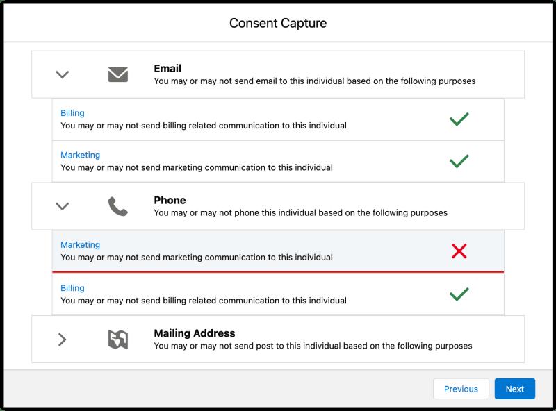 """, Guide étape par étape de la gestion du consentement dans Salesforce<span class=""""wtr-time-wrap after-title""""><span class=""""wtr-time-number"""">4</span> minutes de lecture</span>"""