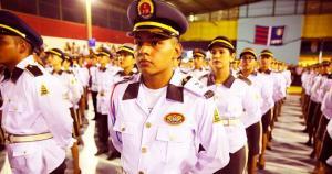 Mais de 200 alunos dos colégios da Polícia Militar foram aprovados em vestibulares
