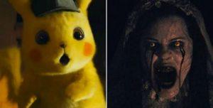 Filme de terror é exibido no lugar de 'Detetive Pikachu' e apavora crianças