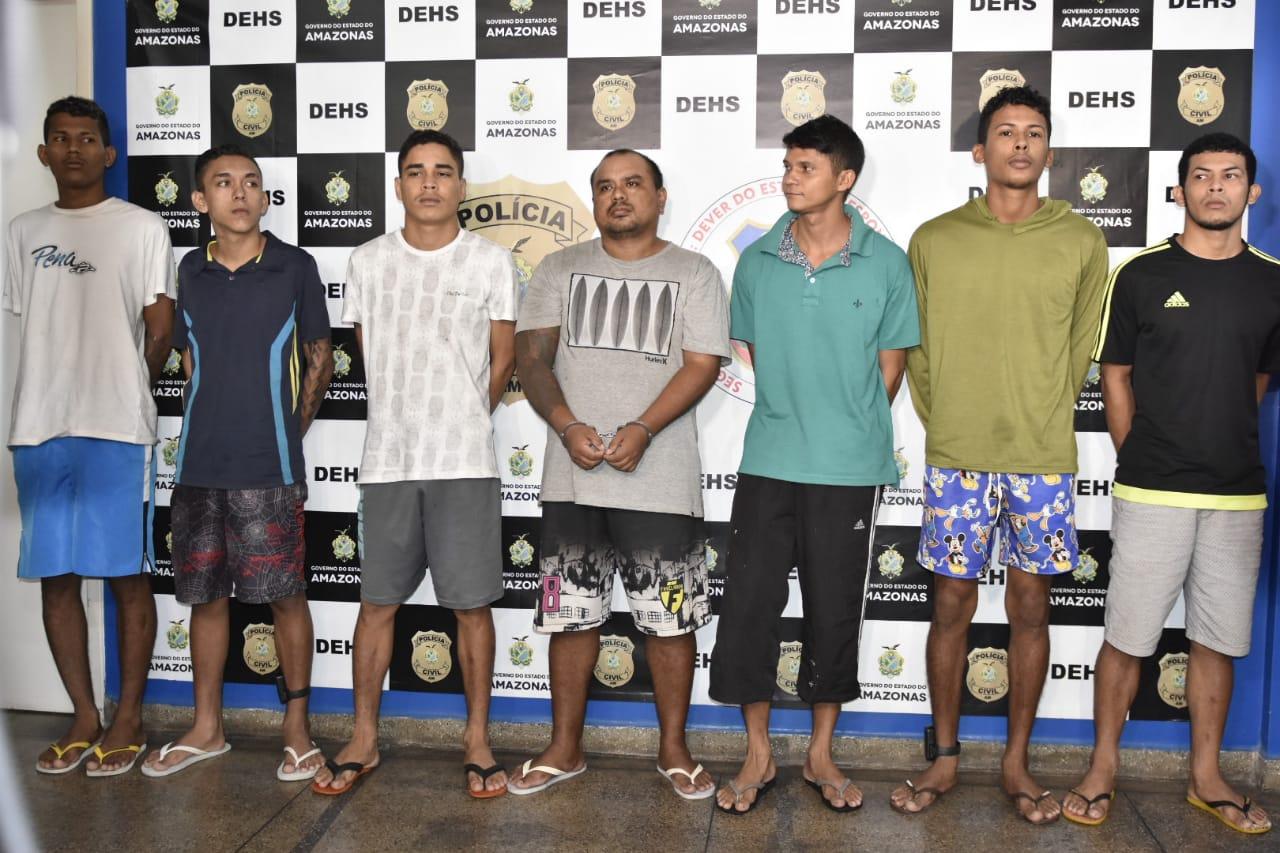 Sete pessoas são presas por homicídio de adolescente, ocorrido em abril deste ano, no bairro Dom Pedro