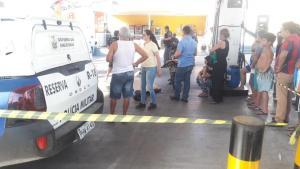 Homem é executado a tiros em posto de combustível, na Zona Sul de Manaus
