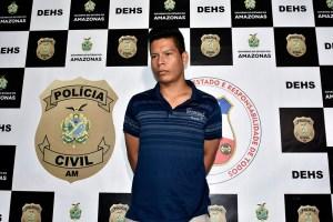 Preso  autor do homicídio de professor de Educação Física, ocorrido no bairro Parque Dez de Novembro